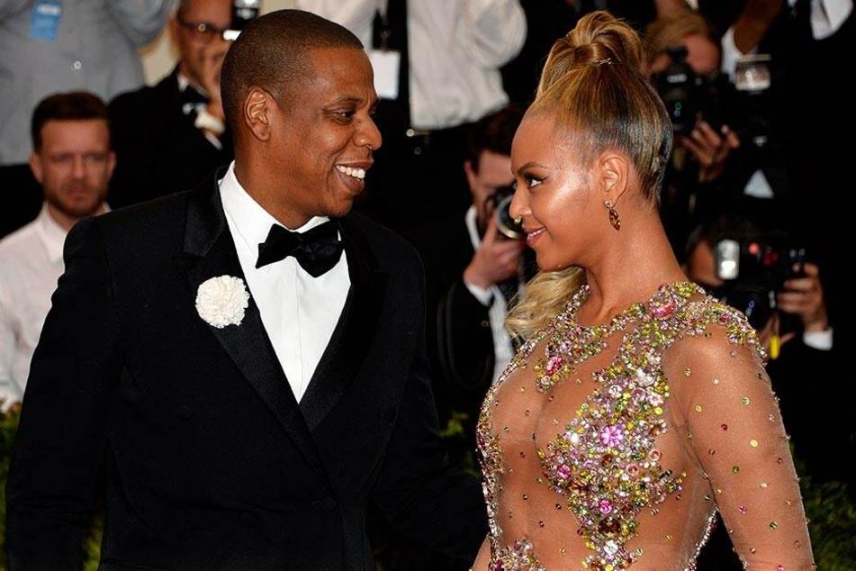 Jay-Z und Beyoncé bei einer Gala in New York.