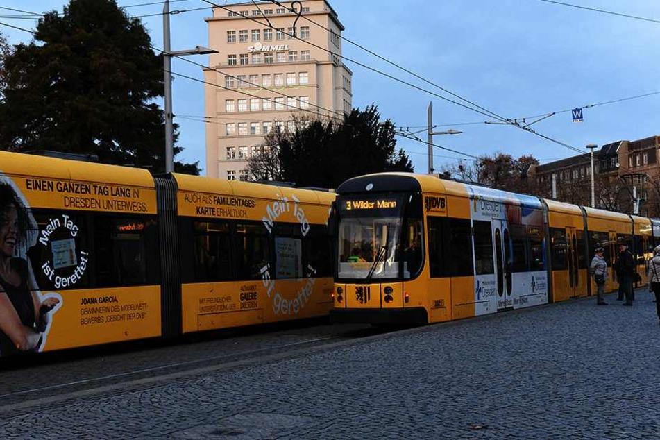 Am Albertplatz wurde ein 31-Jähriger von mehreren Männern ausgeraubt.
