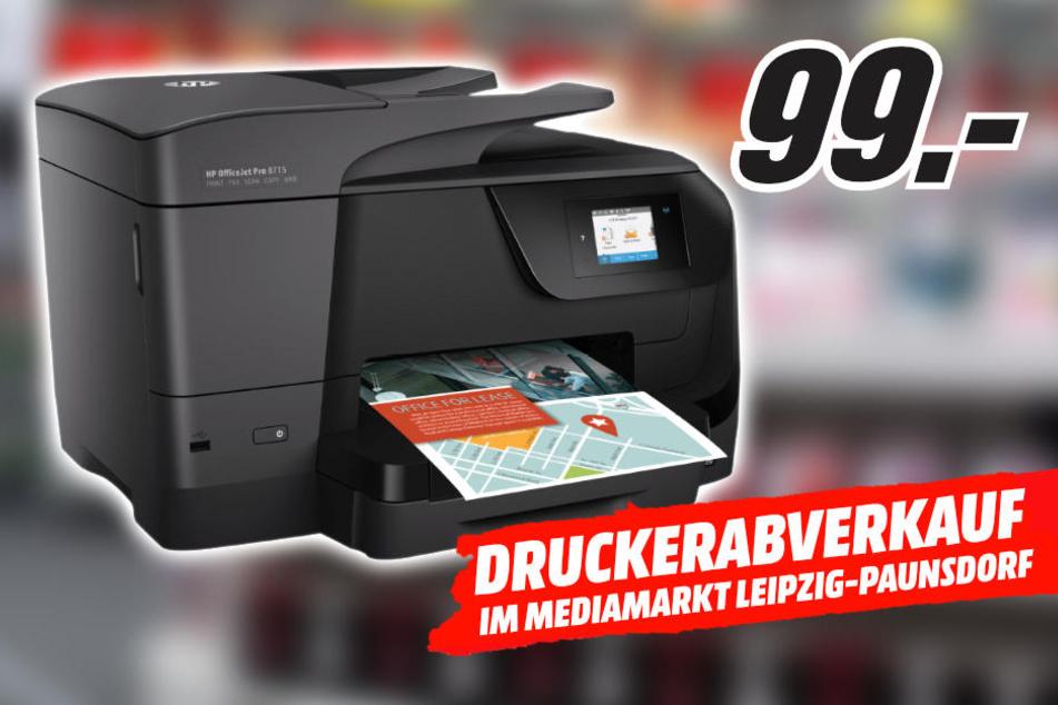 Großer Drucker-Abverkauf bei MediaMarkt Leipzig-Paunsdorf