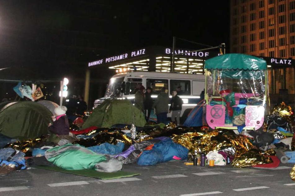 Klima-Demo: Räumung am Potsdamer Platz friedlich beendet!
