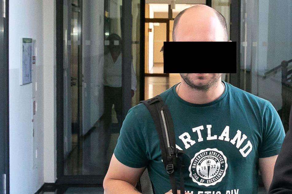 """""""Perfider Terror"""": Marcel B. (31) gestand seine Taten und kassierte zwei Jahre Knast."""