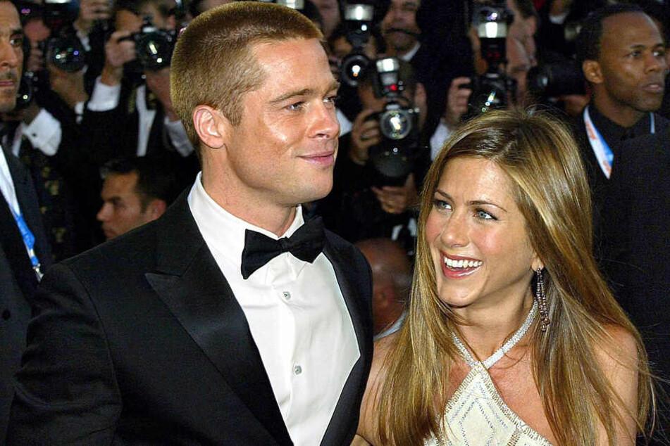 Damals waren sie noch glücklich zusammen: Brad Pitt und Jennifer Aniston 2004 bei den Filmfestspielen in Cannes.