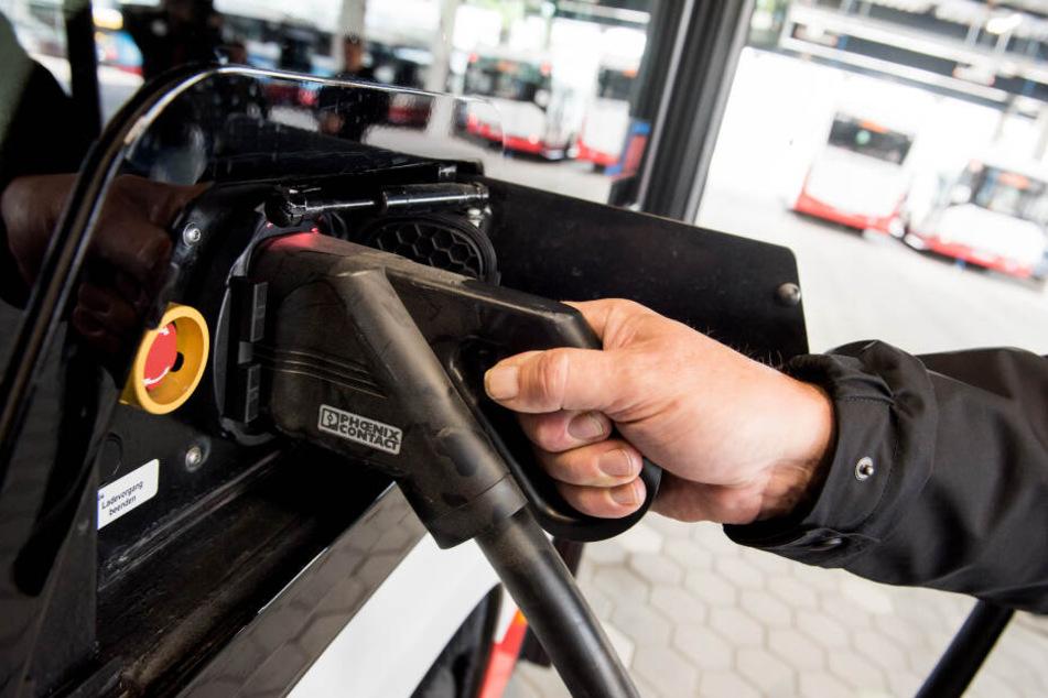 In Jena sind jetzt elektrische Busse unterwegs