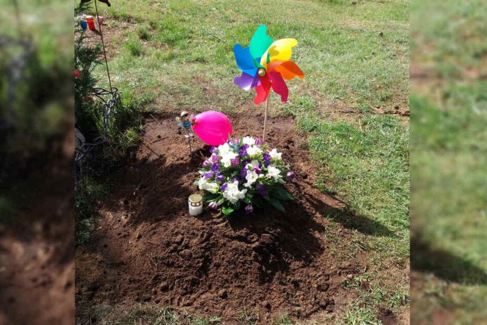 Auf dem Friedhof in Glinde wurde der tote Säugling beigesetzt.