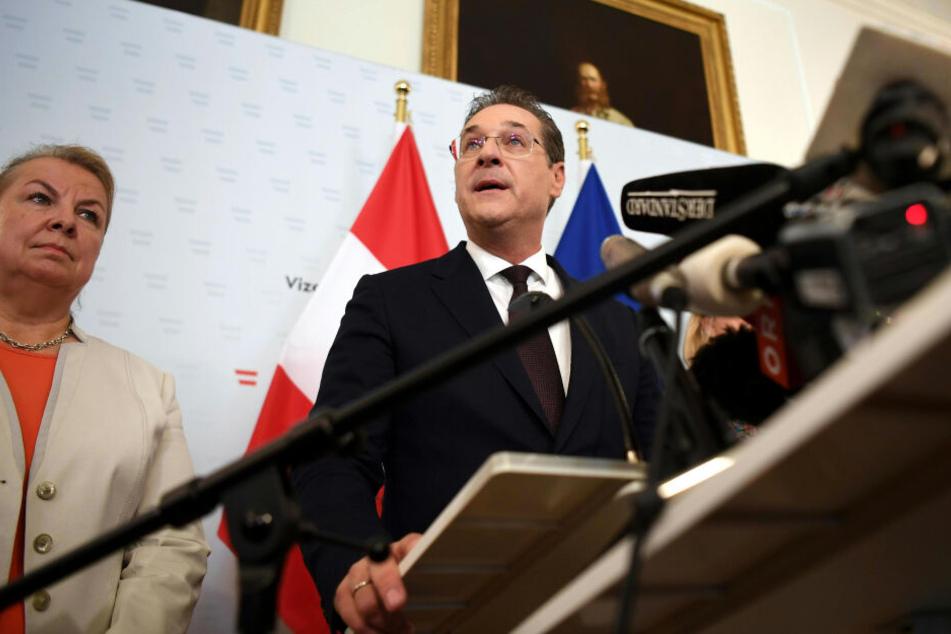 Heinz-Christian Strache löste mit seinem Ibiza-Skandal eine Polit-Krise in Österreich aus.