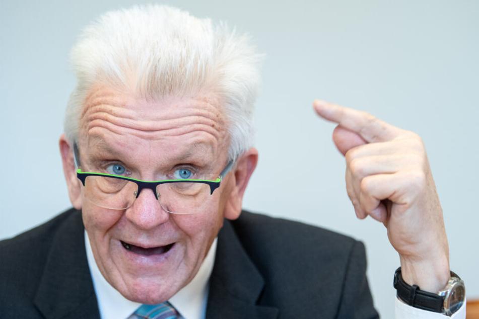 Baden-Württembergs Ministerpräsident Winfried Kretschmann (Grüne) hat sich bereits im Januar mit der Europafrage im Ländle beschäftigt.