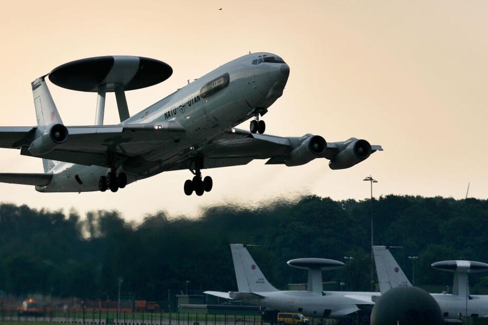 Diese Nato-Flugzeuge sind in NRW stationiert und werden aufgerüstet