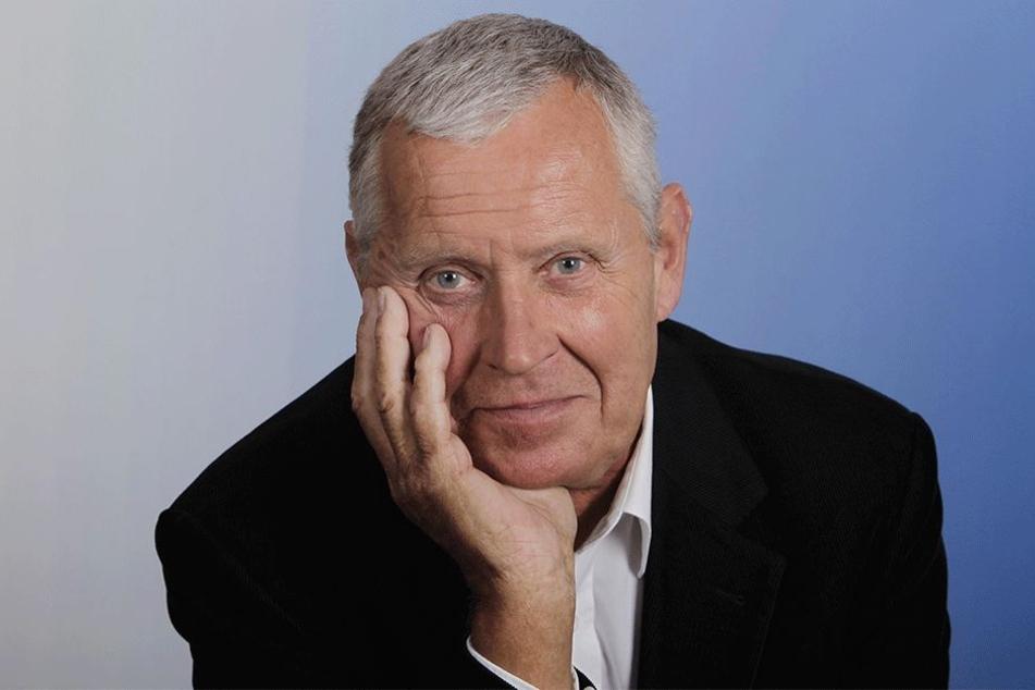 Ex-TV-Kommissar Jürgen Zartmann (77).