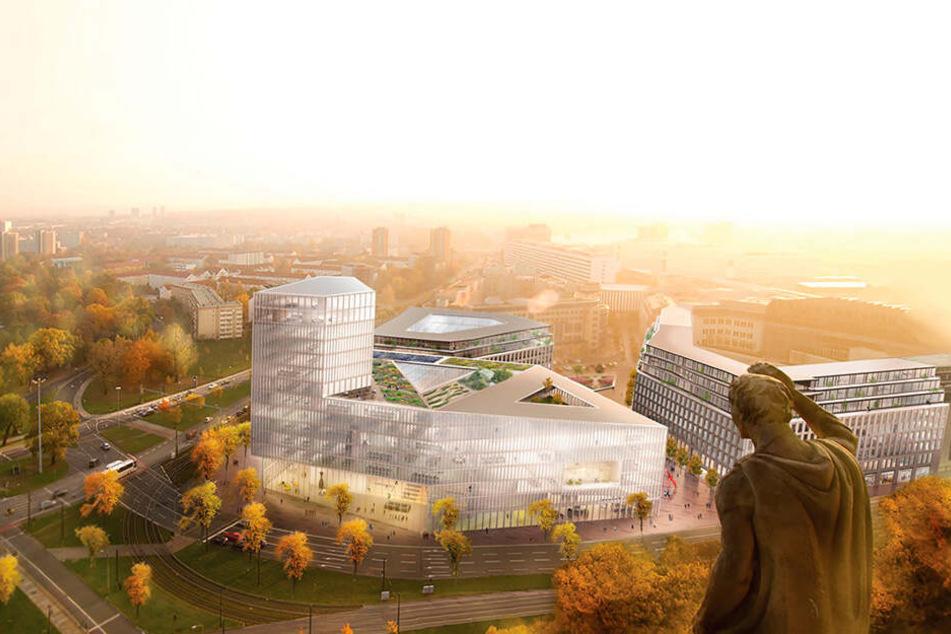So in etwa könnte das neue Rathaus aussehen. Genaue Pläne folgen 2021.
