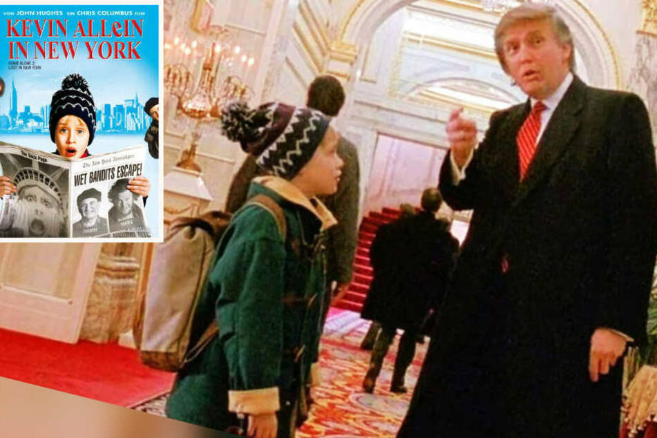 Trump Kevin Allein In New York