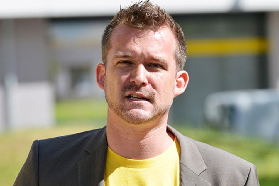 Baubürgermeister Raoul Schmidt-Lamontain (40, Grüne) hat mit der BRN jede  Menge Arbeit.