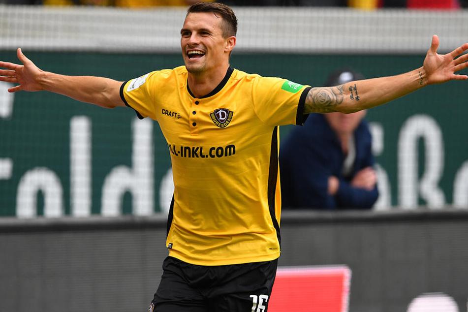 Wechselte erst vor wenigen Tagen von Dynamo Dresden zu Norwich City: Philip Heise.