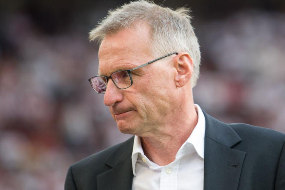 Will im Winter seine fehlgeschlagene Kaderplanung ausbessern: VfB-Sportvorstand Michael Reschke.