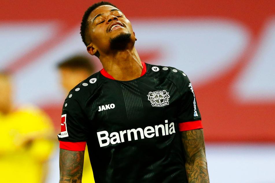 Bayers Flügelflitzer Leon Bailey (23) traf gegen den SC Freiburg zwar wieder, ist von seiner Galaform aus der Hinrunde aber ein Stück weit entfernt.