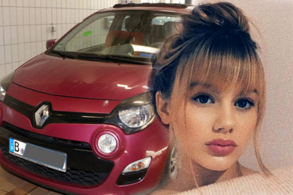 Die Polizei geht davon aus, dass Rebeccas Leiche in diesem Auto transportiert wurde.