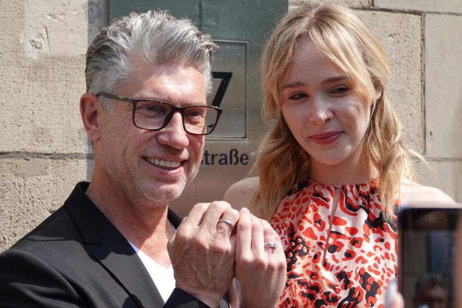 Theresia Fischer und Thomas Behrend gaben sich im Mai das Ja-Wort.