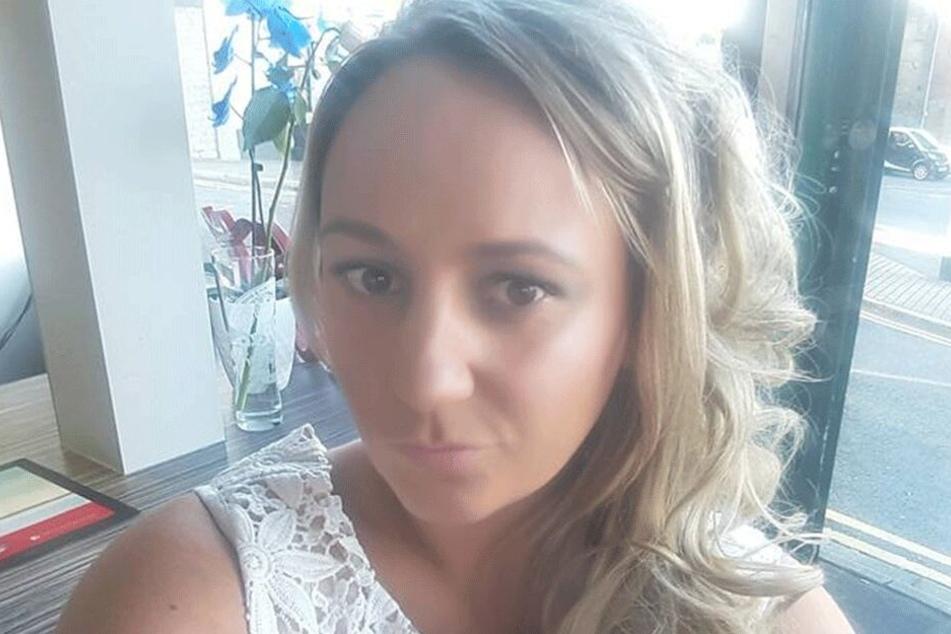 Gemma Knowles (31) auf einem Facebook-Selfie.