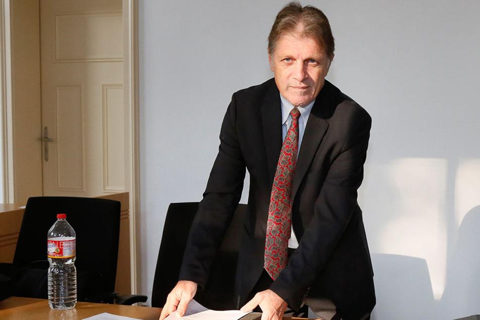 Martin Wimmer (59) will demFreistaat die Millionen retten.