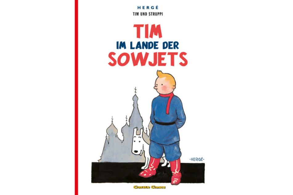 """Das erste Heft """"Tim im Lande der Sowjets"""" erschien 1929."""