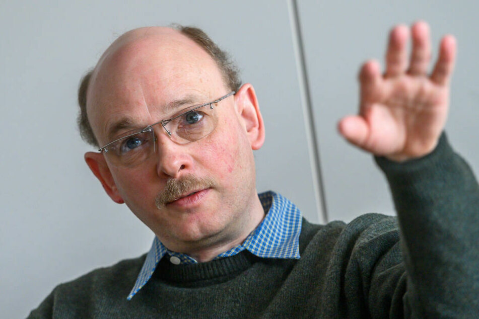 Thomas Berger von der DB Netz AG leitet die Baumaßnahmen.
