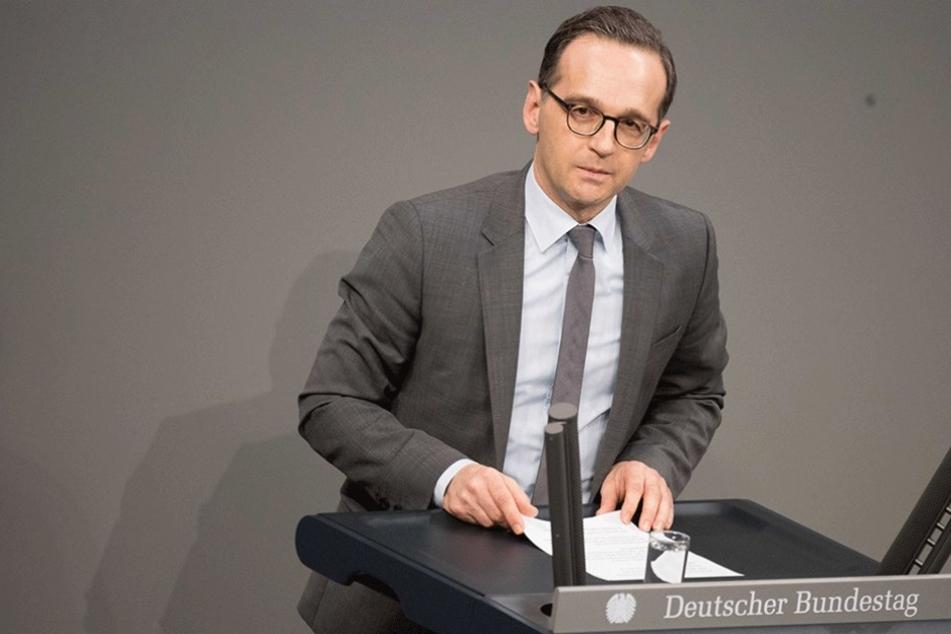 Für Justizminister Heiko Maas ist die AfD auch ein Sammelbecken für Rechtsextreme.