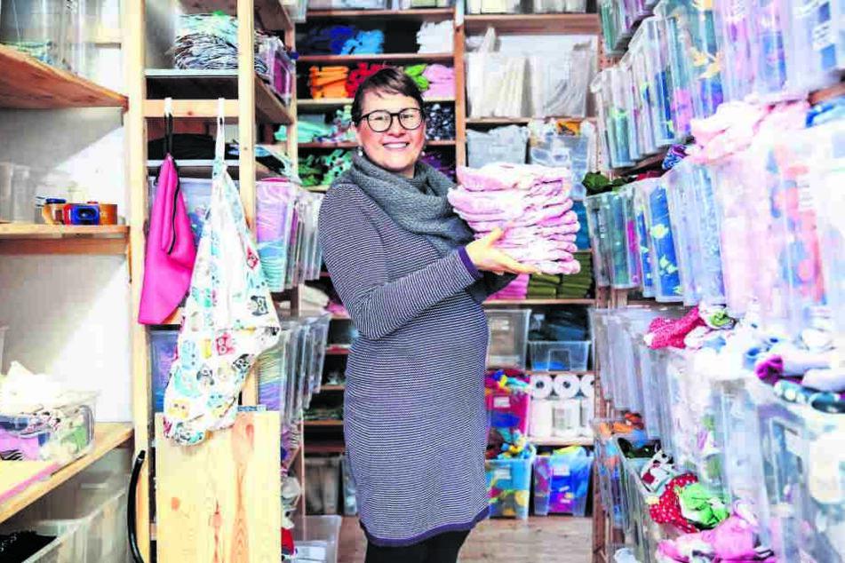 Stephanie Oppitz (39) fand eine Alternative zum Wegwerf-Babywickel: die ökologische Stoffwindel.