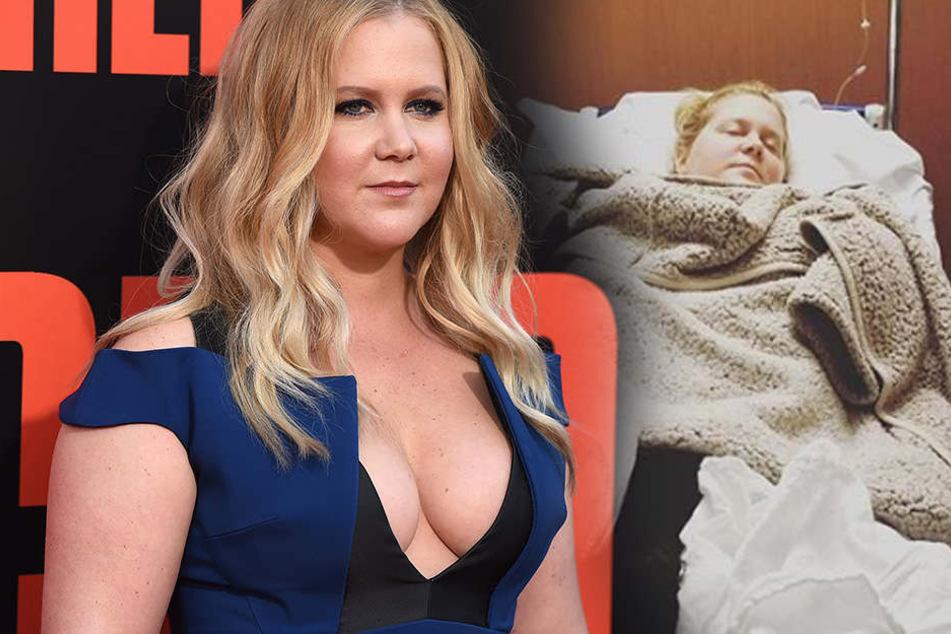 Sorge um schwangere Schauspielerin: Amy Schumer im Krankenhaus
