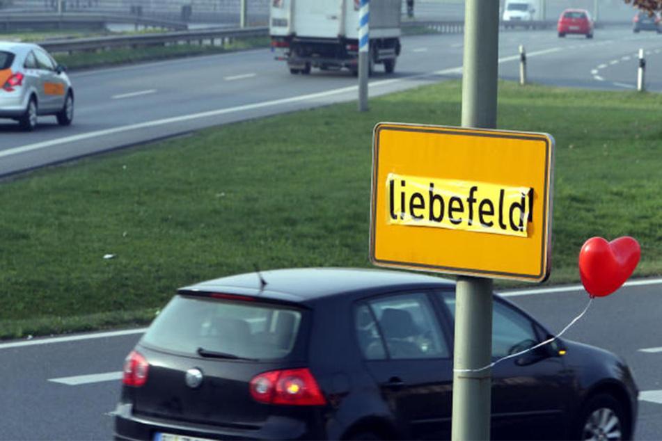 """Bielefeld trägt auch den liebevollen Spitznamen """"Liebefeld""""."""