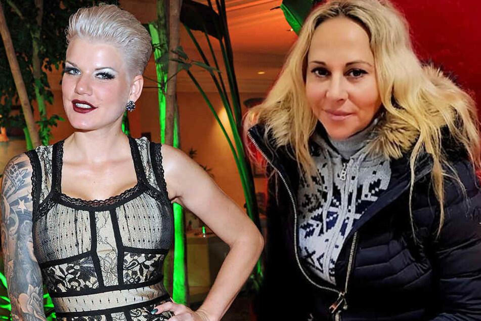 Melanie Müller (links) und Marion Pfaff werden bei der Gedenkshow fehlen.