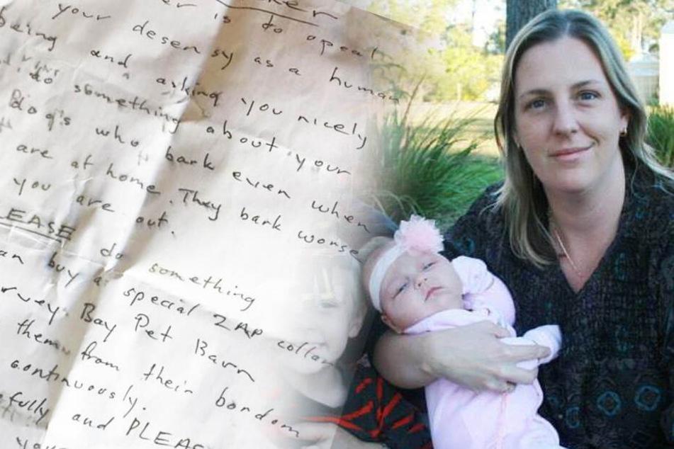 Mutter findet diesen Brief, wenig später ist ein geliebtes Familienmitglied tot