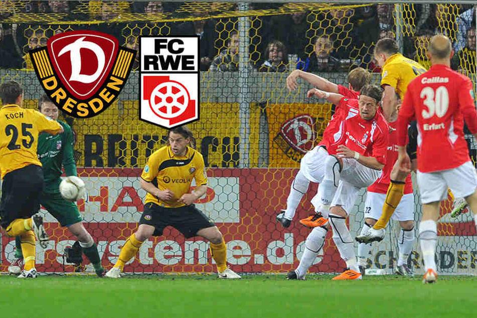 Partie für den guten Zweck: Dynamo hilft RWE
