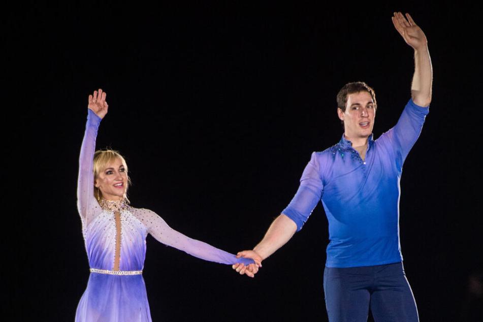 Am Sonntag geben Aljona Savchenko und Bruno Massot ihr Comeback auf der Eisbühne.