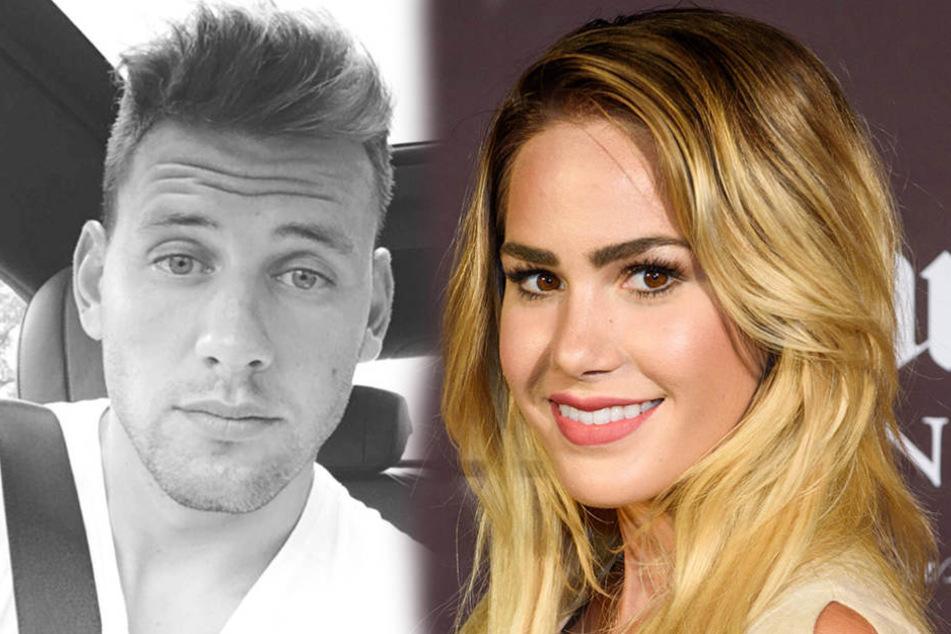 Adam Szalai und Angelina Heger sollen bereits seit Monaten turteln.