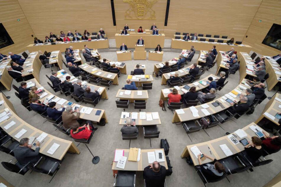 Im vergangenen Jahr erhöhten sich die Landtags-Abgeordneten ihre Diäten auf 7776 Euro. Der Betrag steigt nun erneut. (Archivbild)