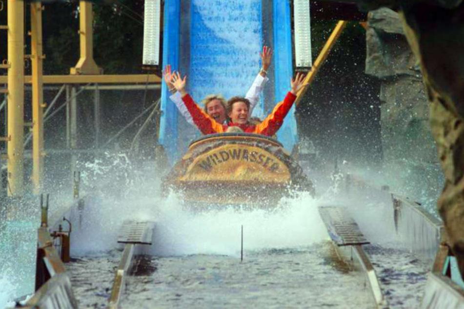 """Bereits im Jahr 2012 war die Wildwasserbahn auf dem """"Aqua Magica""""-Gelände."""