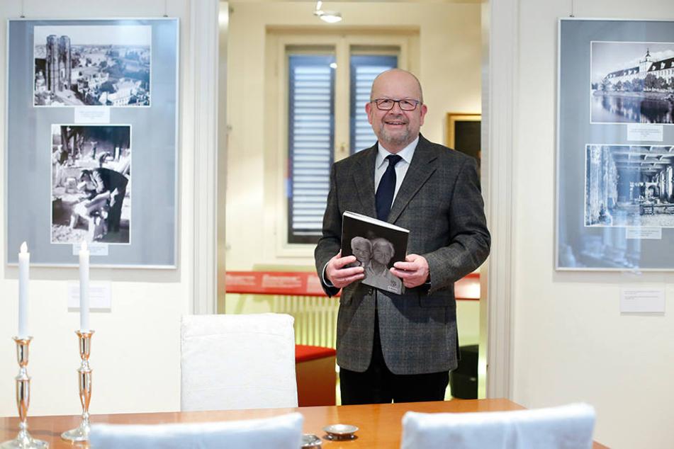 Rechnet in diesem Jahr mit tausend Hochzeiten: Dresdens Standesamts-Chef  Frank Neubert.