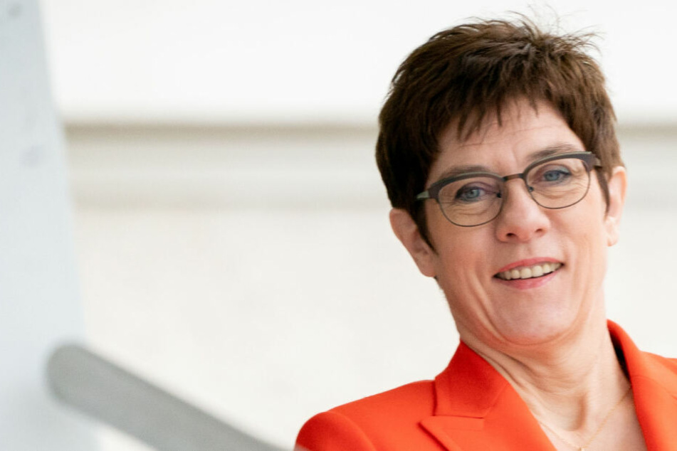 Annegret Kramp-Karrenbauer in Berlin.