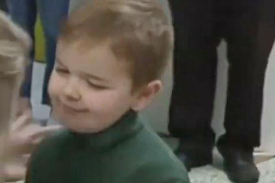Der kleine John Oliver Zippay (6) musste schon viel durchstehen.