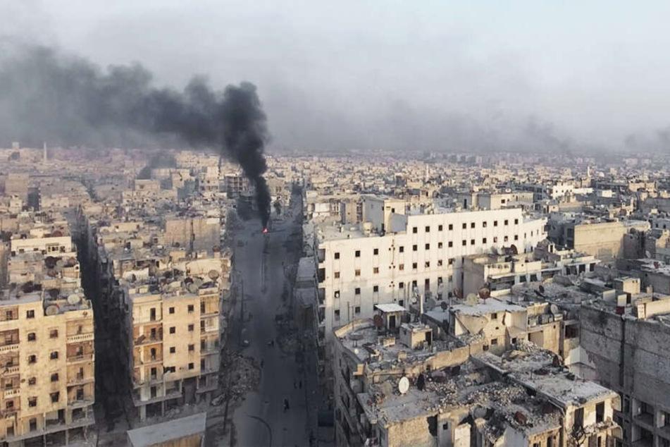 Ein Bild der Zerstörung: Aleppo wurde unter den Bombenangriffen nahezu komplett zerstört.