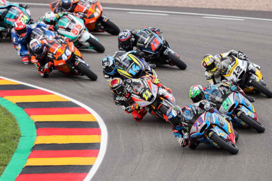 Wird der Motorrad-Grand-Prix auch 2019 noch auf dem Sachsenring stattfinden?
