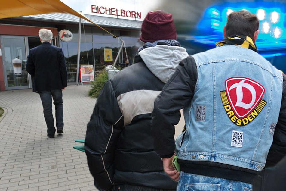 Dynamo-Fans plündern Raststätte in Thüringen
