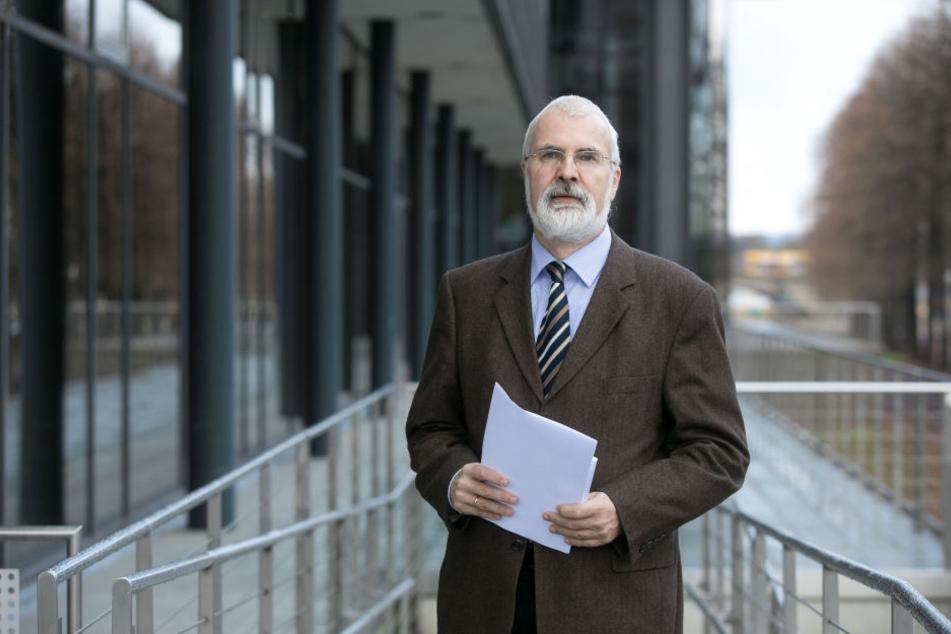 Sachsens Datenschutzbeauftragter Andreas Schurig (60).