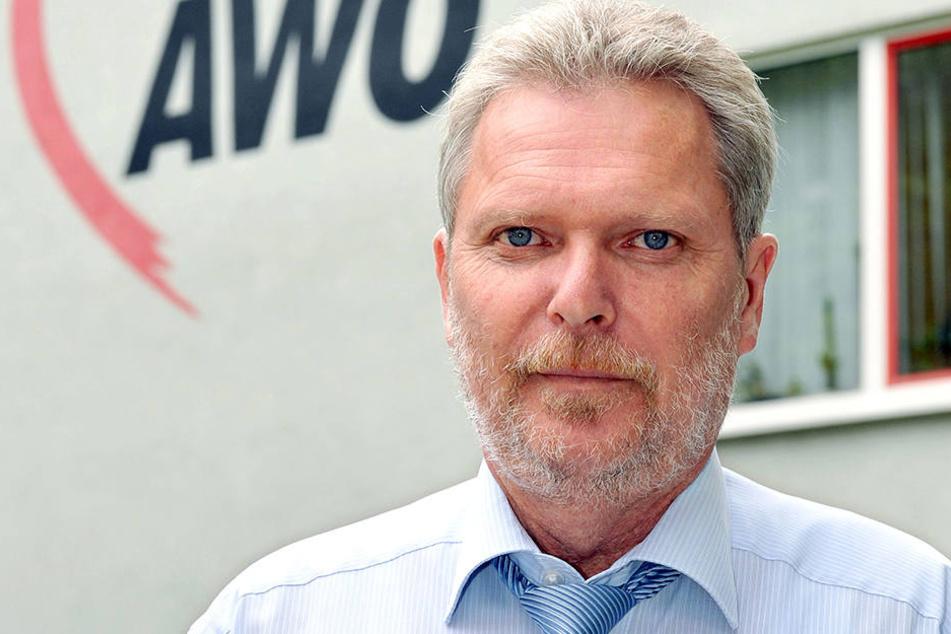 AWO-Chef Jürgen Tautz (57) sucht nach neuen Wegen für verwahrloste Kinder und  Jugendliche.