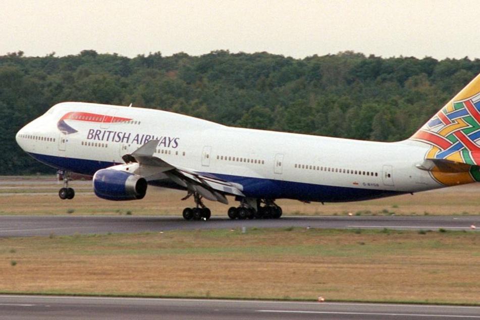 Der British-Airways-Pilot wurde von der Polizei aus dem Cockpit geholt. (Symbolbild)