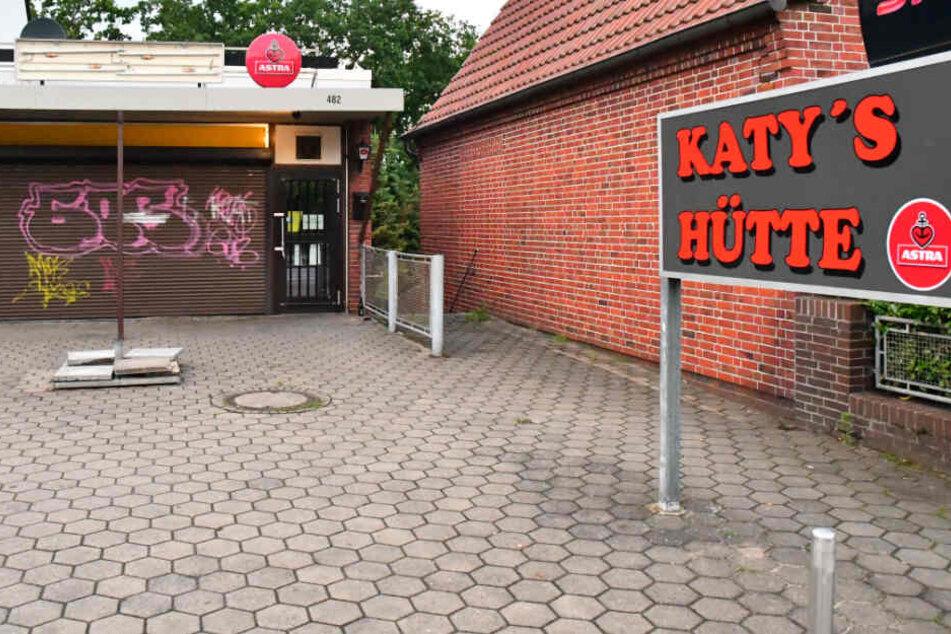 """Die Gaststätte """"Katy's Hütte"""" wurde geschlossen."""