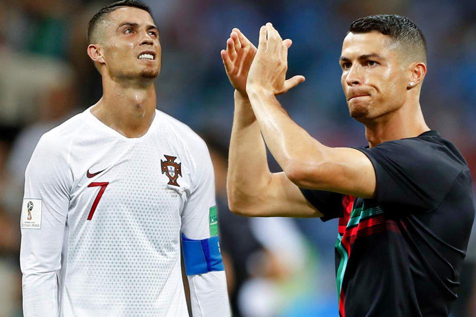 WM-Aus im Achtelfinale: Tritt Ronaldo jetzt zurück?