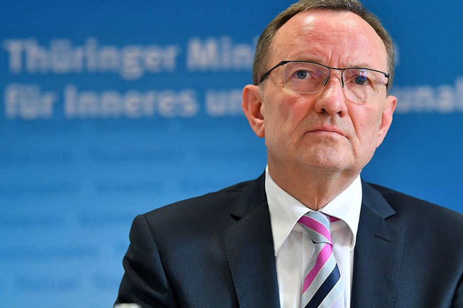 Innenminister Hoger Poppenhäger (SPD)