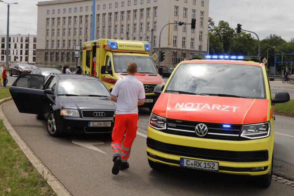 Der Unfall passierte am Sonntagmittag am Falkeplatz.