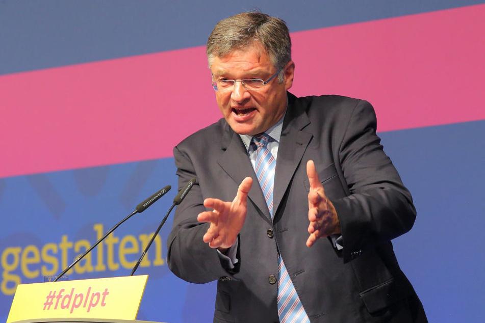 Will so schnell wie möglich sanieren: FDP-Chef Holger Zastrow (49).