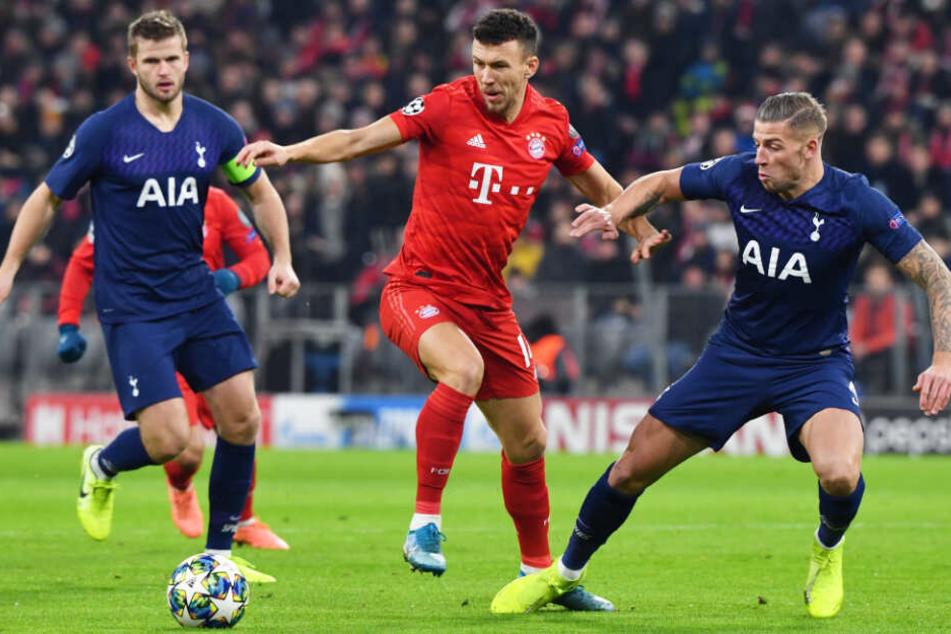 Der FC Bayern München musste gegen die Mannschaft aus London alles geben.